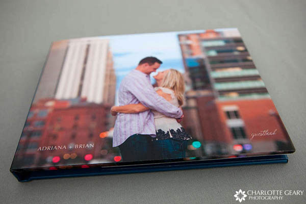 Wedding Photo Book Cover Ideas ~ Guest book brittany bekas photography chicago wedding