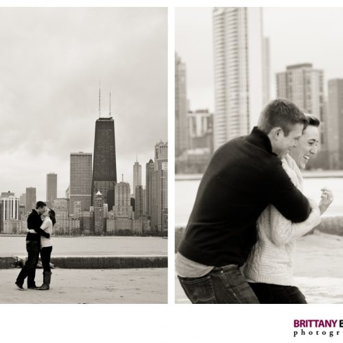 NORTH AVE BEACH + CHICAGO ENGAGEMENT // EILEEN + MIKE