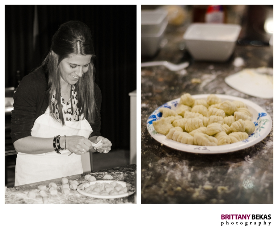 Itasca Pasta Cooking Skills Academy | Brittany Bekas Photography
