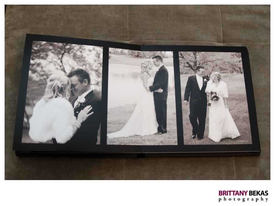 Chicago Wedding Album Book | Brittany Bekas Photography