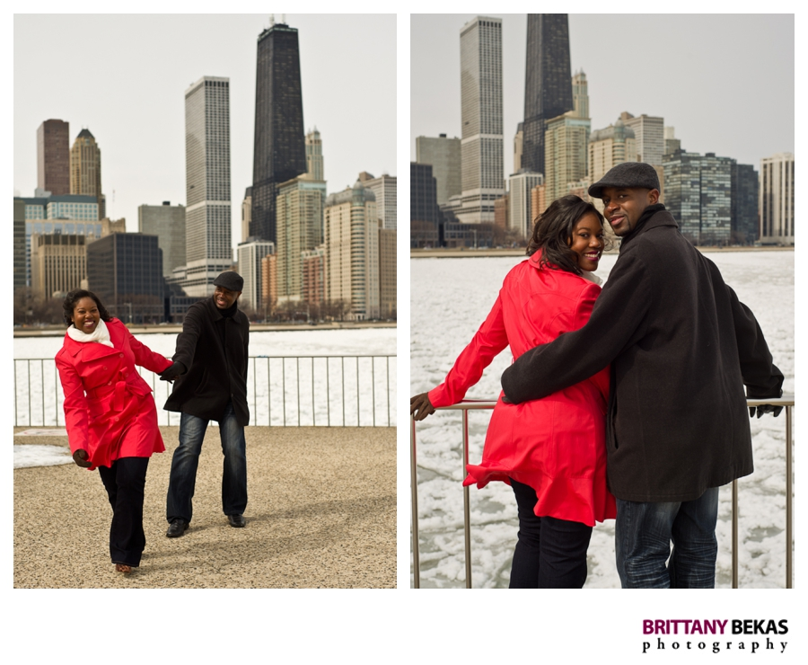 Chicago Destination Wedding Engagement Photos