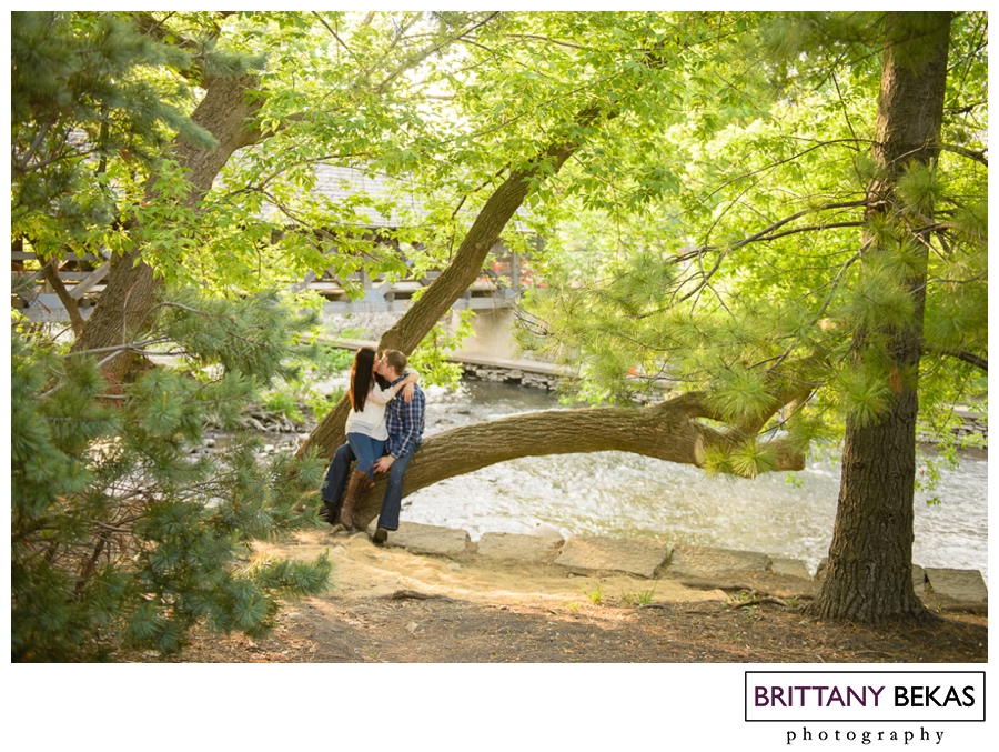 NAPERVILLE RIVERWALK ENGAGEMENT PHOTOS | BRITTANY BEKAS PHOTOGRAPHY | CHICAGO + DESTINATION WEDDING PHOTOGRAPHER