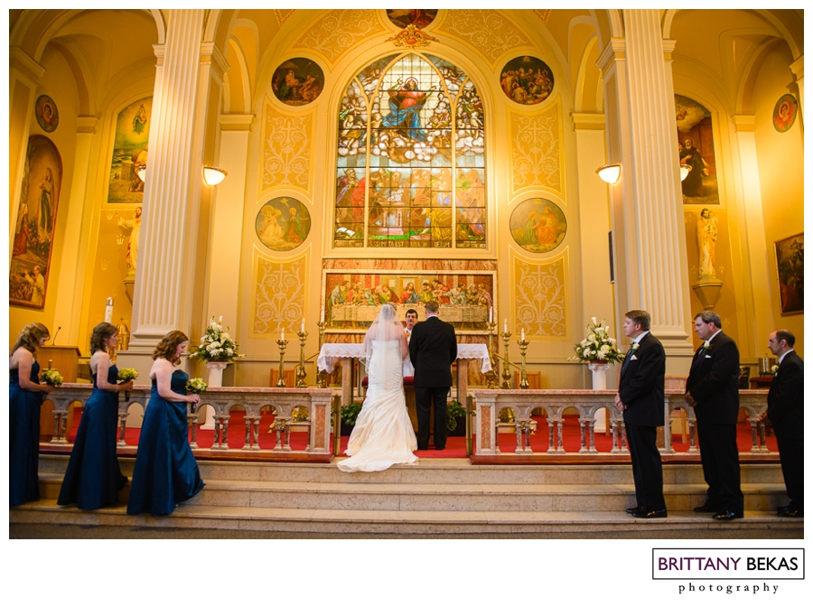 CHICAGO ASSUMPTION CATHOLIC CHURCH HILTON LISLE NAPERVILLE PHOTOS | BRITTANY BEKAS PHOTOGRAPHY | CHICAGO + DESTINATION WEDDING PHOTOGRAPHER