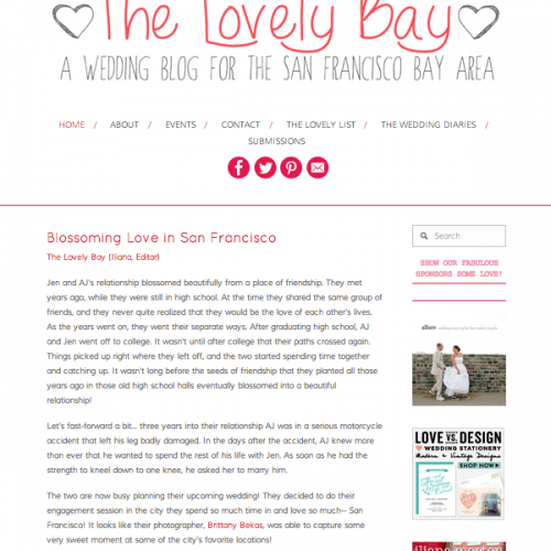 FEATURED // THE LOVELY BAY