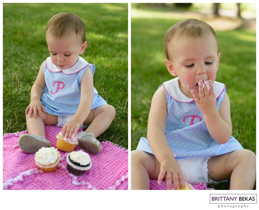 Naperville Baby Photographer First Birthday | Brittany Bekas Photography