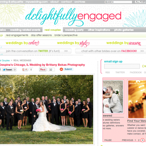 FEATURED // DELIGHTFULLY ENGAGED