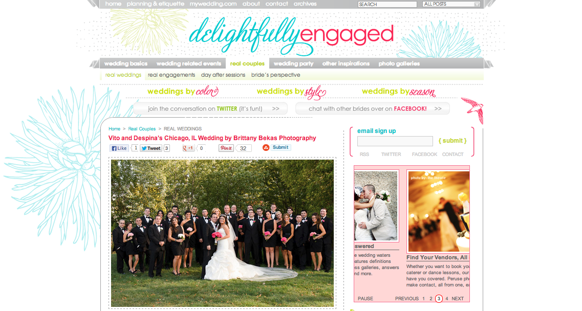 Featured | Delightfully Engaged | Brittany Bekas Photography | Chicago + destination wedding and lifestyle photographer