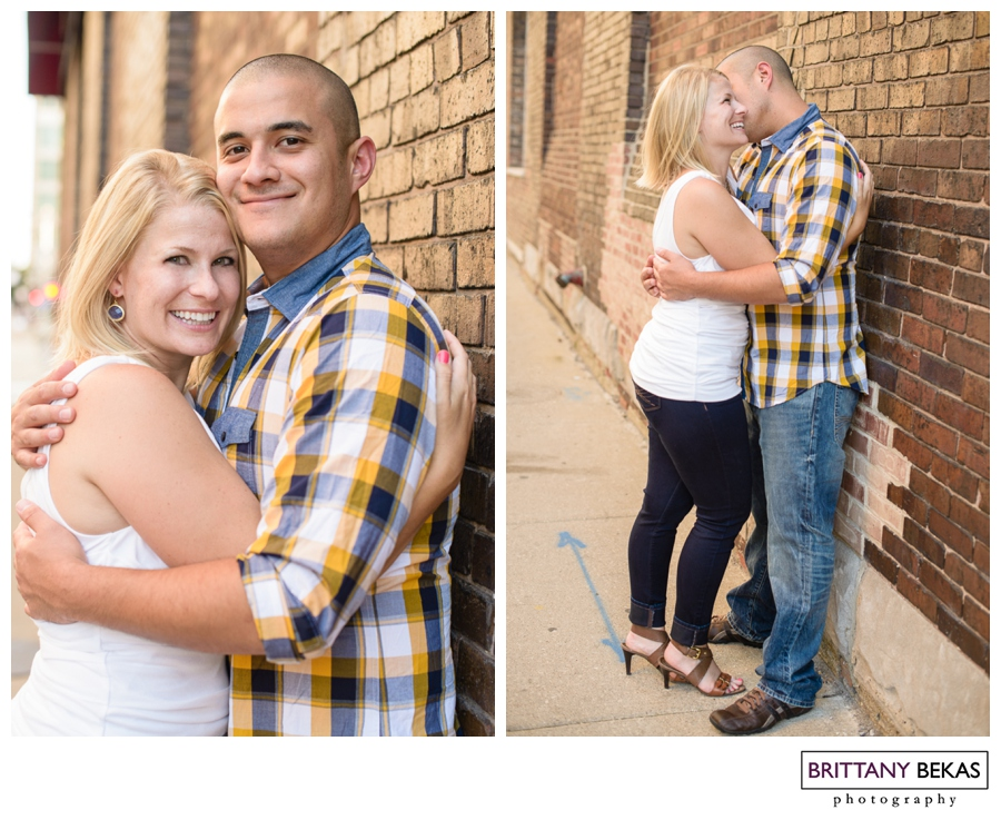 Chicago Kinzie Street Bridge Engagement // Brittany Bekas Photography // Chicago + Destination wedding + lifestyle photographer