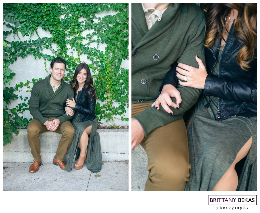 Chicago Engagement Session // Brittany Bekas Photography // Chicago + destination wedding and lifestyle photographer