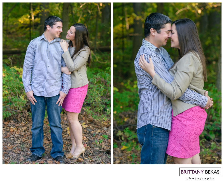 Willow Springs Engagement Session // Brittany Bekas Photography // Chicago + destination wedding photographer