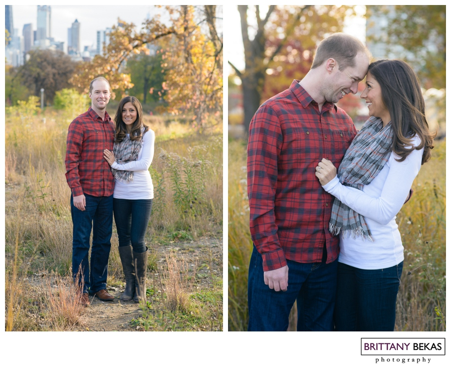 Lincoln Park Engagement Chicago // Brittany Bekas Photography // Chicago + destination wedding photographer