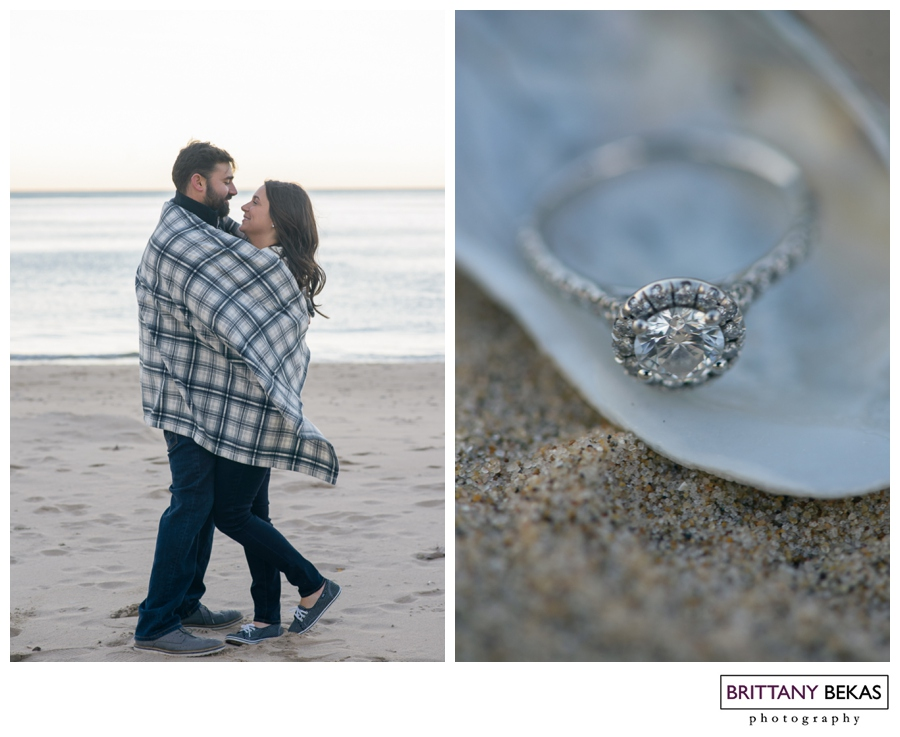 Kinzie Street Bridge + Oak Street Beach Chicago Engagement // Brittany Bekas Photography // Chicago + destination wedding photographer
