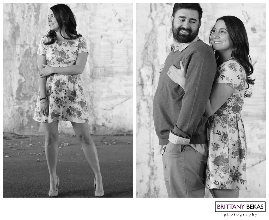 Kinzie Street Bridge Chicago Engagement // Brittany Bekas Photography // Chicago + destination wedding photographer