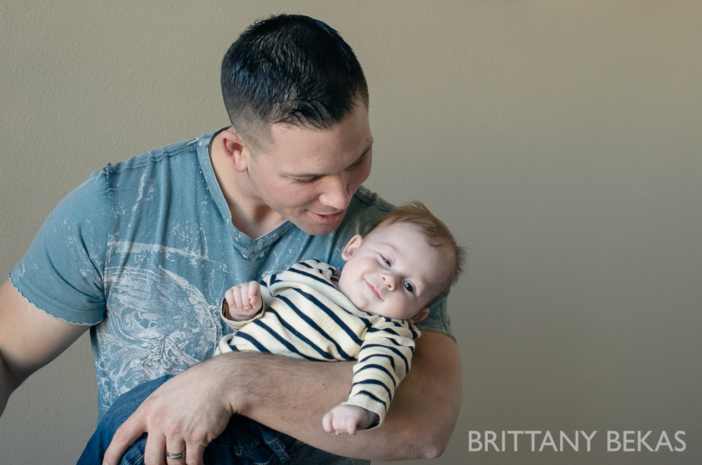 3 month baby photography // Brittany Bekas Photography - www.brittanybekas.com // Chicago wedding + lifestyle photography