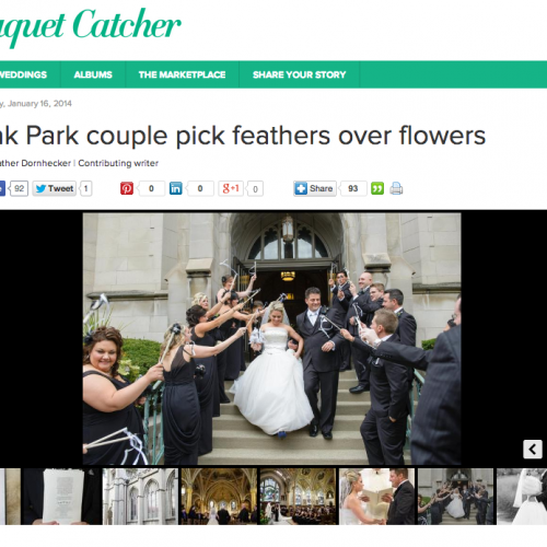 FEATURED // BOUQUET CATCHER