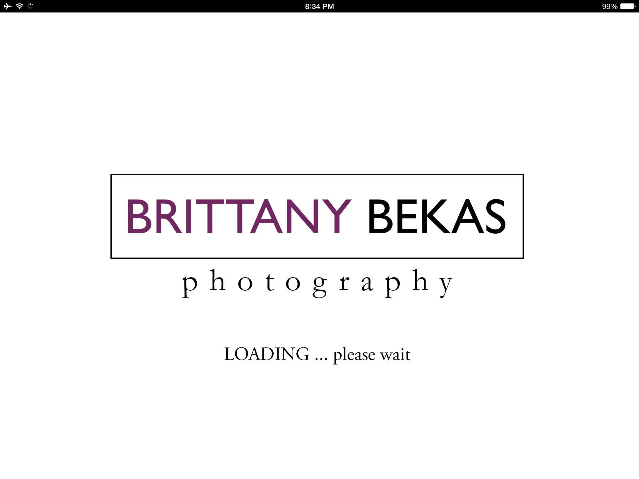 custom smartphone / tablet photo gallery app // brittany bekas photography - www.brittanybekas.com // wedding + lifestyle photographer based in Chicago, Illinois