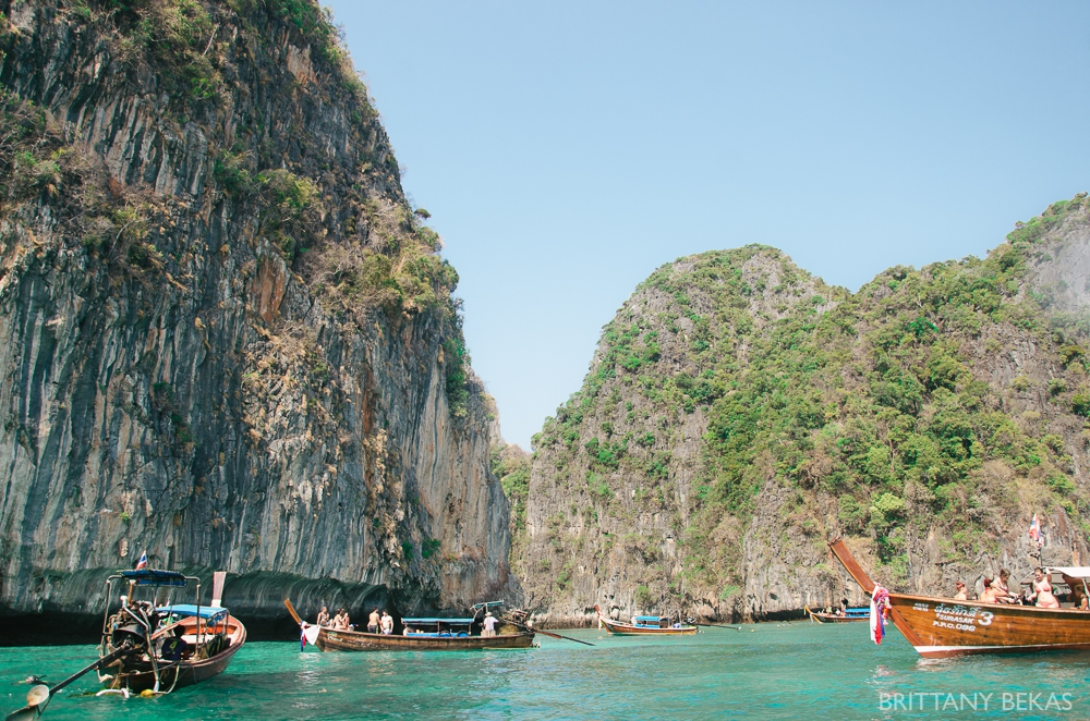 thailand islands ko phi phi // brittany bekas photography