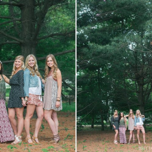 WHEATON SENIOR GRADUATION PHOTO SHOOT // michelle, olivia, audrey + rose