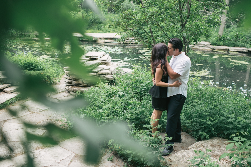 Alfred Caldwell Lily Pool Chicago Engagement Photos - Brittany Bekas Photography_0001