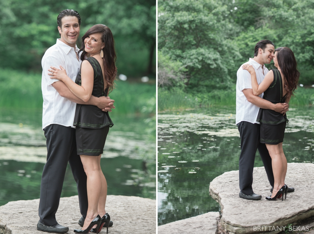 Alfred Caldwell Lily Pool Chicago Engagement Photos - Brittany Bekas Photography_0004