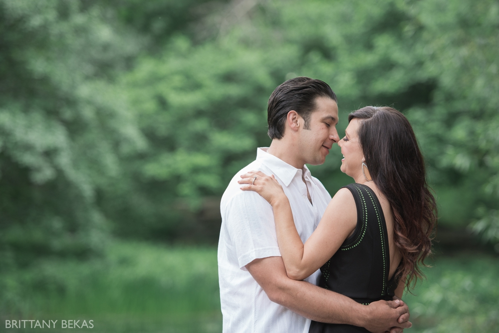 Alfred Caldwell Lily Pool Chicago Engagement Photos - Brittany Bekas Photography_0005