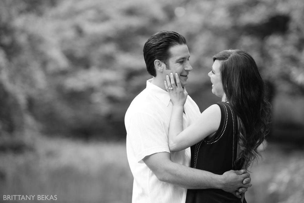 Alfred Caldwell Lily Pool Chicago Engagement Photos - Brittany Bekas Photography_0006