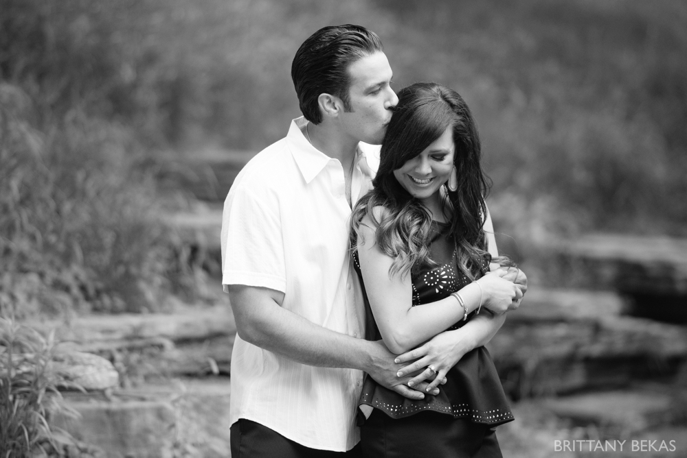 Alfred Caldwell Lily Pool Chicago Engagement Photos - Brittany Bekas Photography_0010