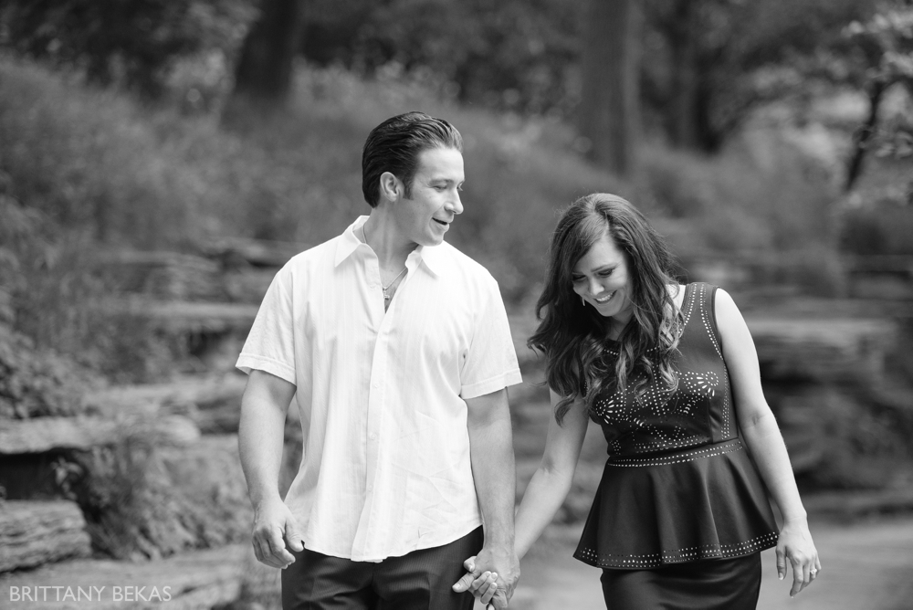 Alfred Caldwell Lily Pool Chicago Engagement Photos - Brittany Bekas Photography_0011
