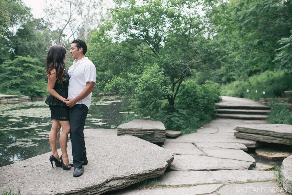Alfred Caldwell Lily Pool Chicago Engagement Photos - Brittany Bekas Photography_0014