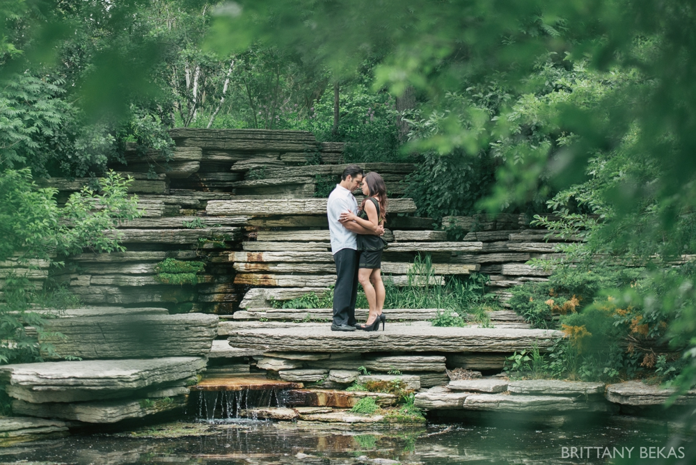 Alfred Caldwell Lily Pool Chicago Engagement Photos - Brittany Bekas Photography_0015