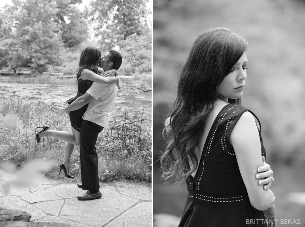 Alfred Caldwell Lily Pool Chicago Engagement Photos - Brittany Bekas Photography_0017