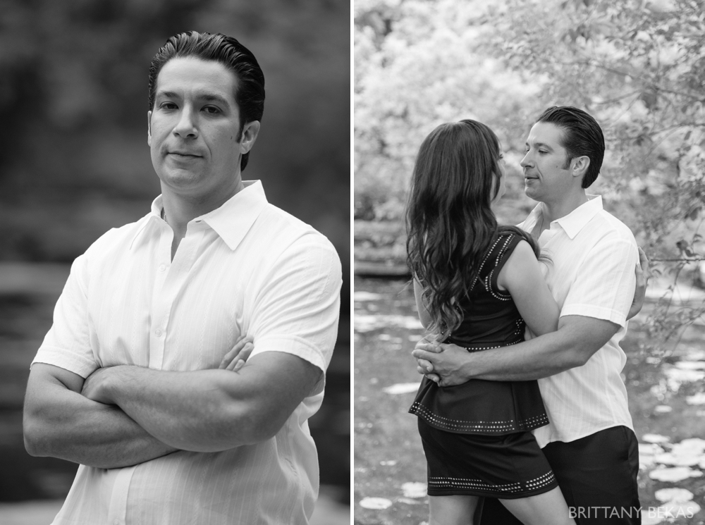 Alfred Caldwell Lily Pool Chicago Engagement Photos - Brittany Bekas Photography_0018
