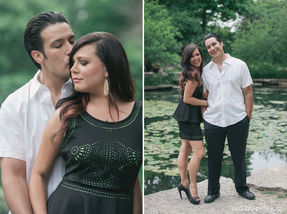 Alfred Caldwell Lily Pool Chicago Engagement Photos - Brittany Bekas Photography_0019