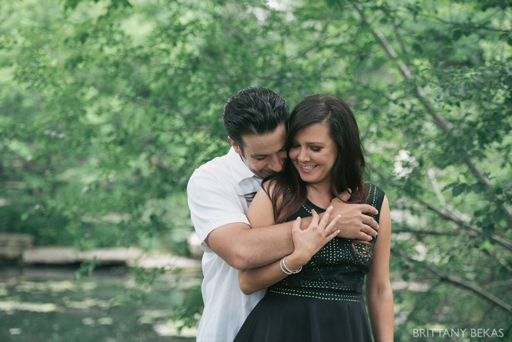 Alfred Caldwell Lily Pool Chicago Engagement Photos - Brittany Bekas Photography_0020