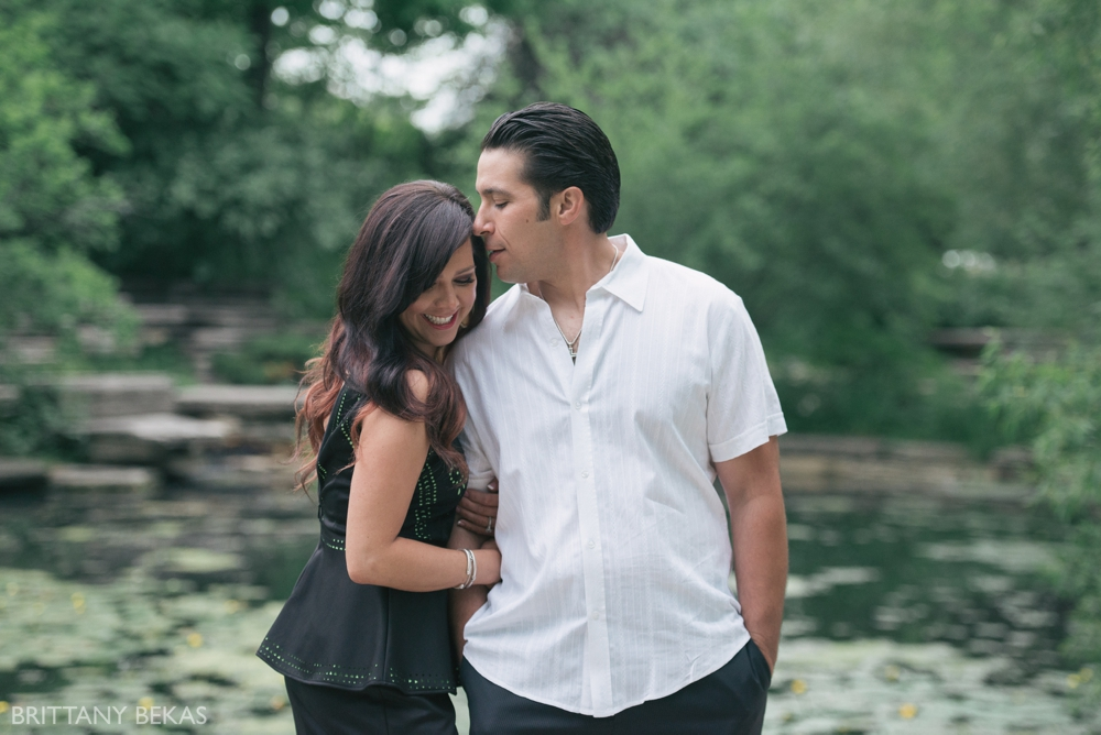 Alfred Caldwell Lily Pool Chicago Engagement Photos - Brittany Bekas Photography_0023