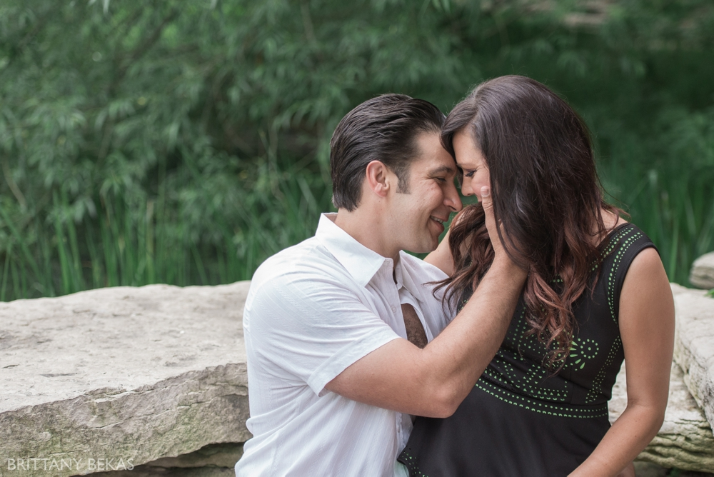 Alfred Caldwell Lily Pool Chicago Engagement Photos - Brittany Bekas Photography_0026