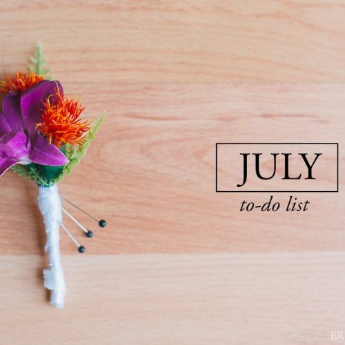 TO – DO LIST // july