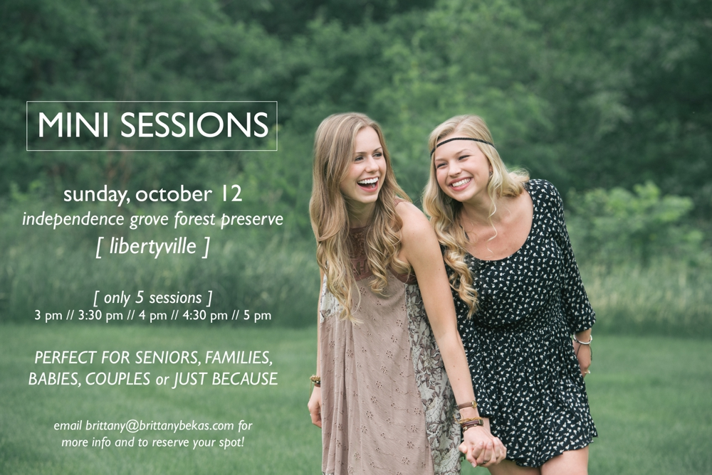 Chicago Fall Mini Sessions Seniors Babies Families Engagement Lifestyle Libertyville - Independence Grove Forest Preserve