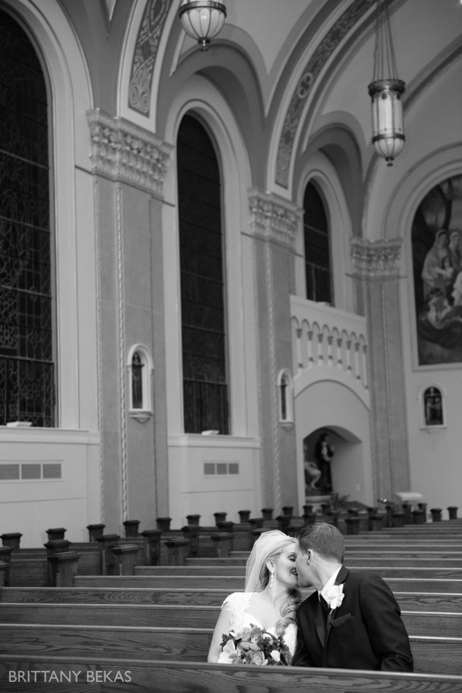 Chicago Wedding St. Cryil Methodius + Ruffled Feathers Wedding Photos_0020