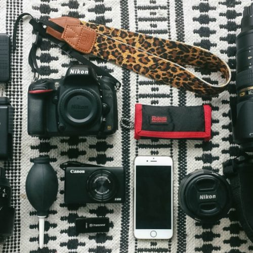 What camera gear I take with me when I travel