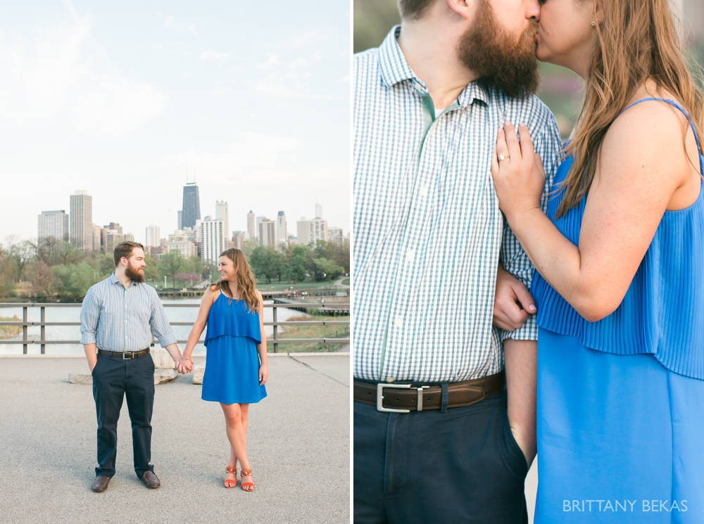 Chicago Engagement Lincoln Park Engagement Photos - Brittany Bekas Photography_0009