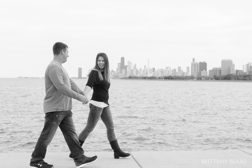 Chicago Engagement Montrose Harbor Engagement Photos - Brittany Bekas Photography_0001