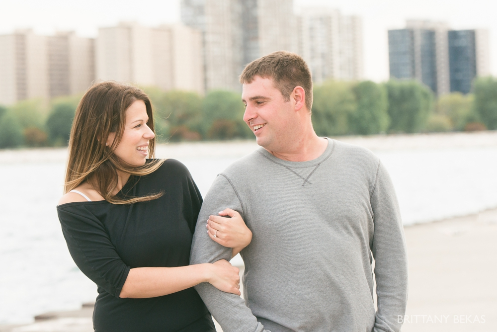 Chicago Engagement Montrose Harbor Engagement Photos - Brittany Bekas Photography_0007
