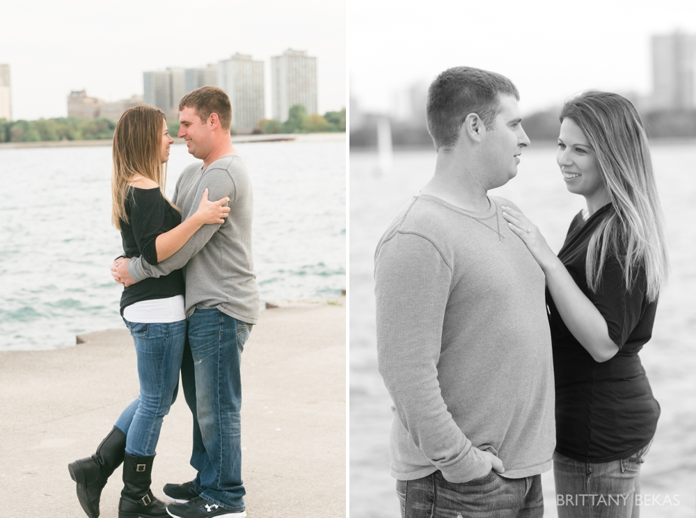Chicago Engagement Montrose Harbor Engagement Photos - Brittany Bekas Photography_0015