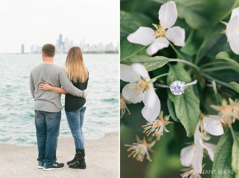 Chicago Engagement Montrose Harbor Engagement Photos - Brittany Bekas Photography_0016