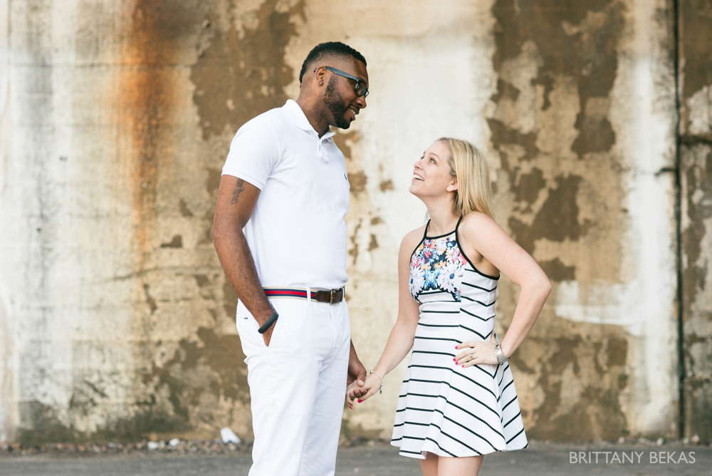 Chicago Engagement Kinzie Street Bridge Photos - Brittany Bekas Photography_0002