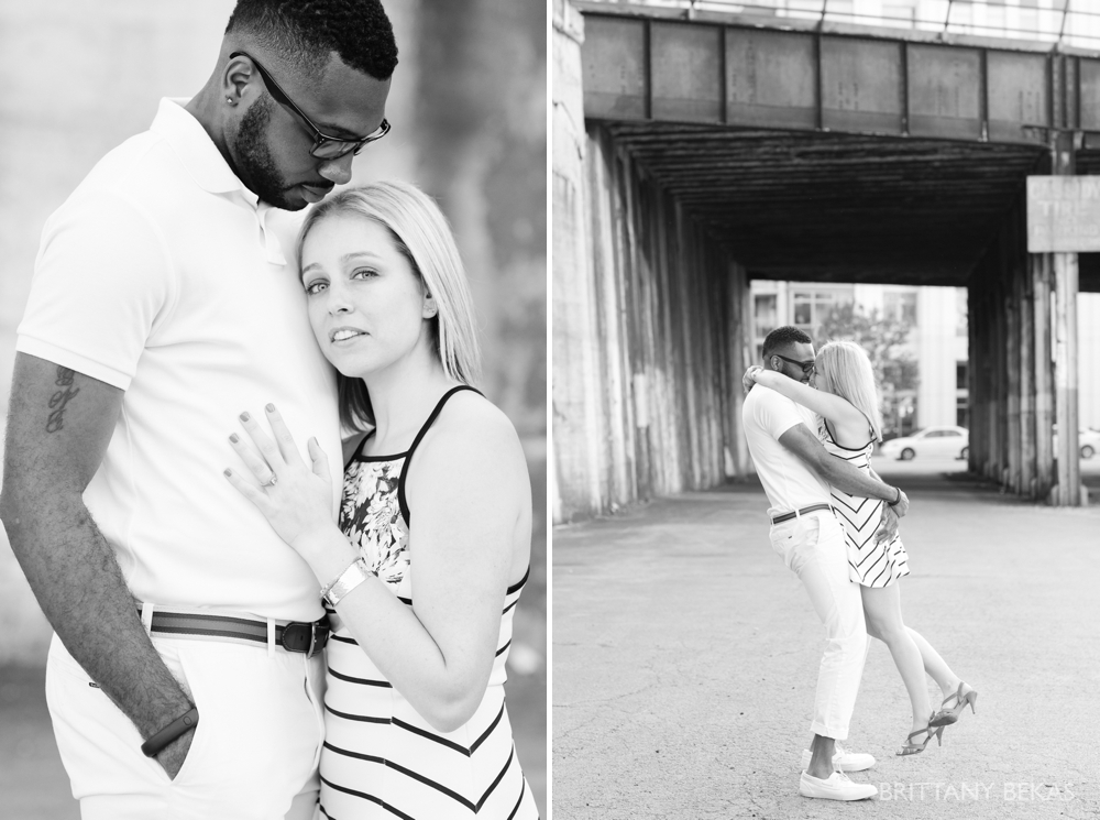 Chicago Engagement Kinzie Street Bridge Photos - Brittany Bekas Photography_0012