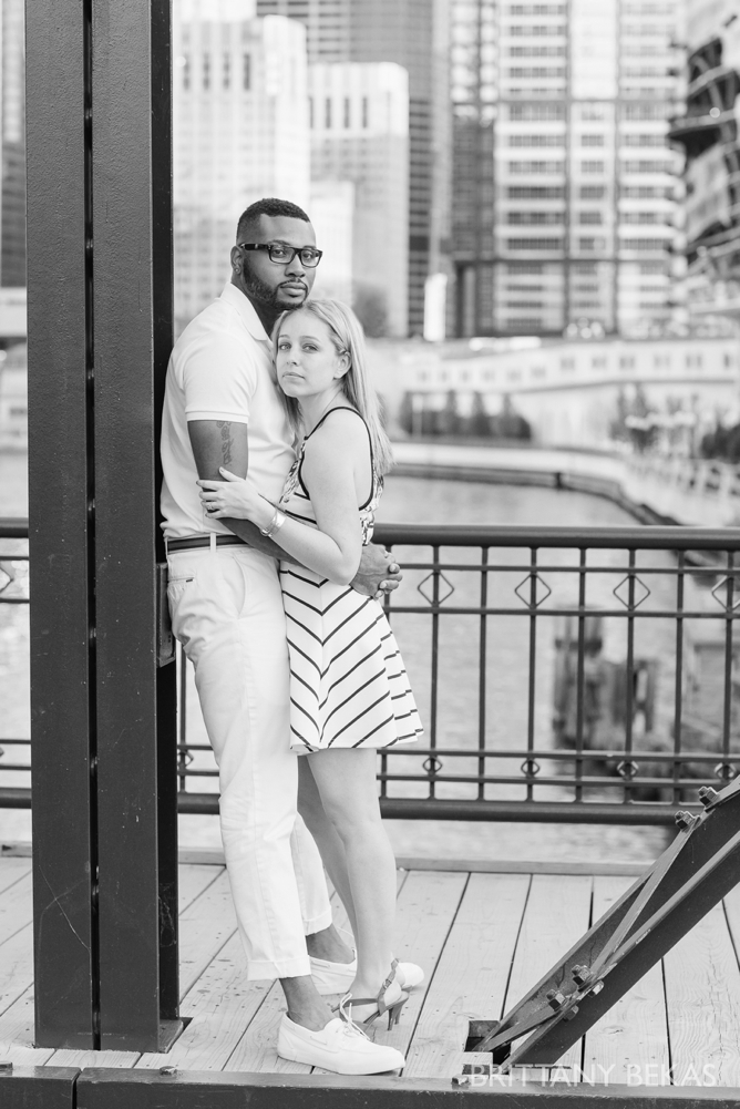 Chicago Engagement Kinzie Street Bridge Photos - Brittany Bekas Photography_0015