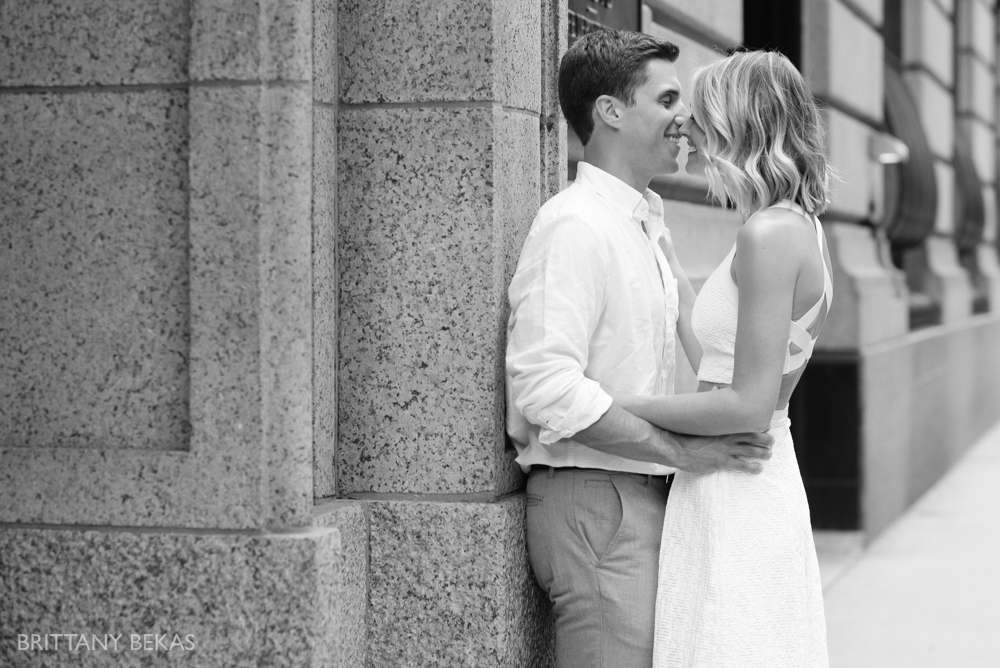 Chicago Engagement - Chicago Board of Trade Engagement Photos - Brittany Bekas Photography_0005