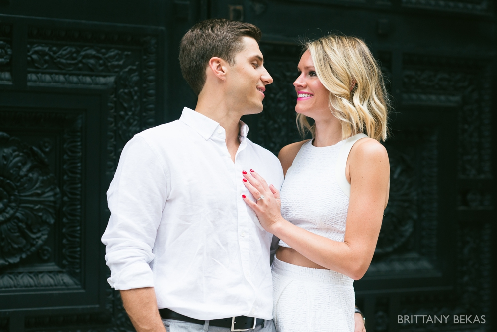 Chicago Engagement - Chicago Board of Trade Engagement Photos - Brittany Bekas Photography_0006